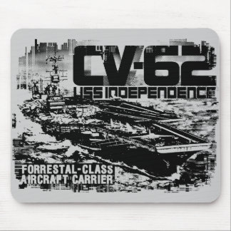 Aircraft carrier Independence Mousepad