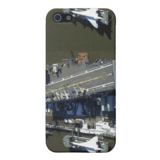 Aircraft Carrier Intrepid New York city iPhone 5/5S Case