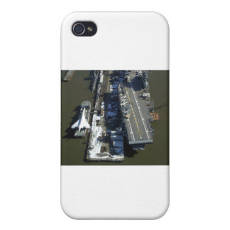 Aircraft Carrier Intrepid New York city iPhone 4/4S Cover