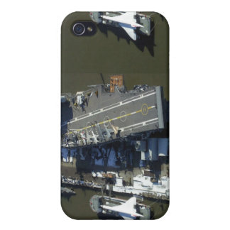 Aircraft Carrier Intrepid New York city iPhone 4 Cases