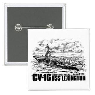 Aircraft carrier Lexington Button