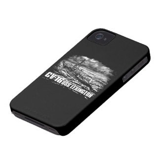 Aircraft carrier Lexington Casemate case iPhone 4 Covers