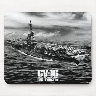 Aircraft carrier Lexington Mousepad