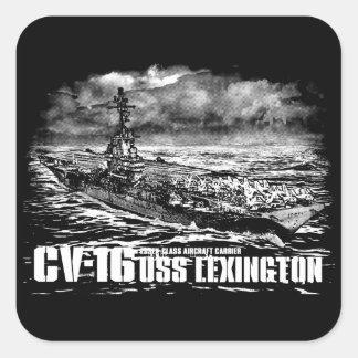 Aircraft carrier Lexington Sticker