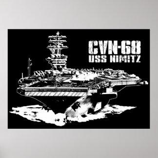 Aircraft carrier Nimitz Print