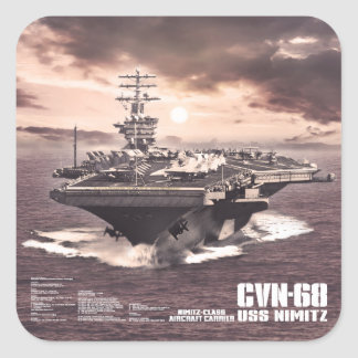 Aircraft carrier Nimitz Sticker