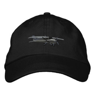 Aircraft Classic Cessna Custom Embroidered Embroidered Hat