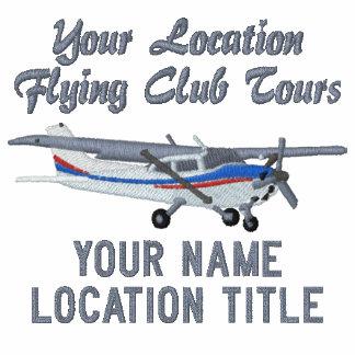 Aircraft Classic Cessna Pilot Custom Personalized Polo Shirt