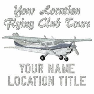 Aircraft Classic Cessna Pilot Custom Personalized Track Jacket