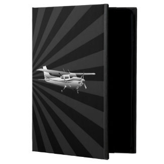 Aircraft Classic Cessna Silhouette Flying Sunburst iPad Air Case