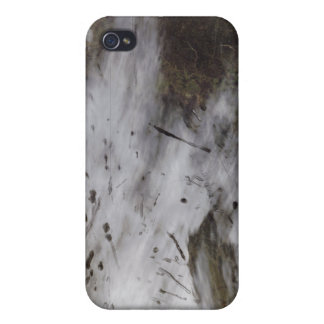 Aircraft dissipation trails iPhone 4 case