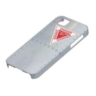 Aircraft fuselage (Danger Ejection seat) iPhone 5 Covers