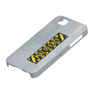 Aircraft fuselage (Ejection - Pull to eject) iPhone 5 Case