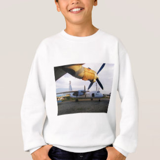 Aircraft graveyard in the east. sweatshirt