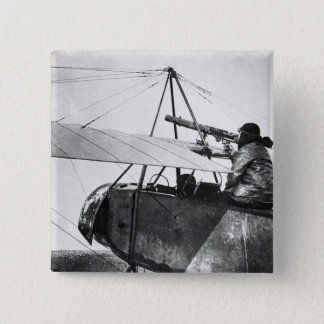 Aircraft gunner during the Battle of the Marne, 19 15 Cm Square Badge