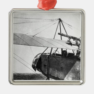 Aircraft gunner during the Battle of the Marne, 19 Christmas Ornament