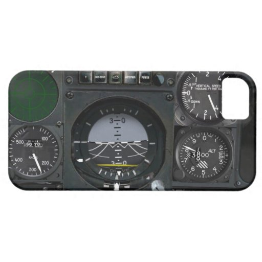 Aircraft Instrument Panel iPhone 5 Case