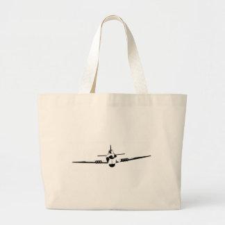 Aircraft Large Tote Bag
