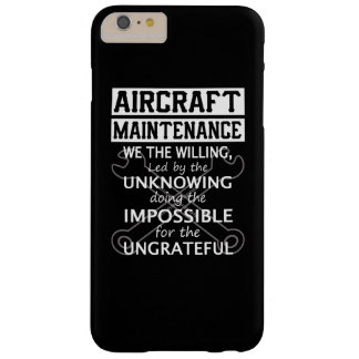 Aircraft Maintenance Barely There iPhone 6 Plus Case