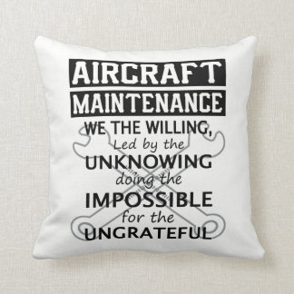 Aircraft Maintenance Cushion