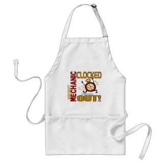 Aircraft Mechanic Clocked Out Apron