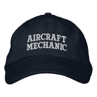 Aircraft Mechanic Embroidered Baseball Cap