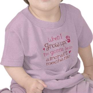 Aircraft Mechanic Future Infant Baby T-Shirt