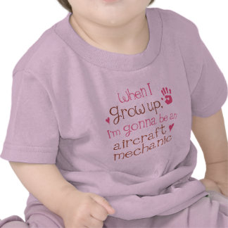 Aircraft Mechanic Future Infant Baby T-Shirt