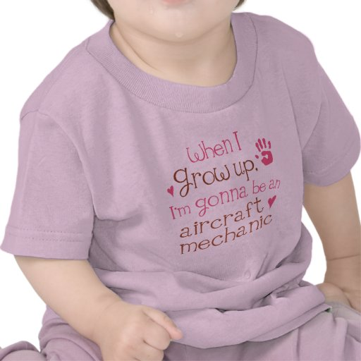 Aircraft Mechanic (Future) Infant Baby T-Shirt