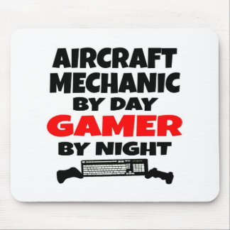 Aircraft Mechanic Gamer Mouse Mat