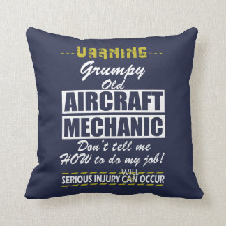 Aircraft Mechanics Cushion