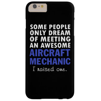 AIRCRAFT MECHANIC'S DAD BARELY THERE iPhone 6 PLUS CASE