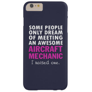 AIRCRAFT MECHANIC'S MOM BARELY THERE iPhone 6 PLUS CASE