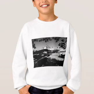 Aircraft museum Garden display Sweatshirt