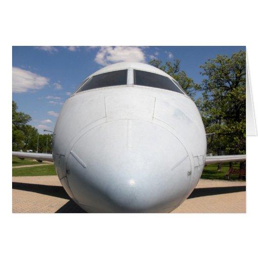 Aircraft Nose 1 Card