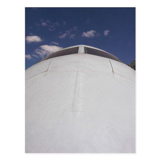 Aircraft Nose 2 Postcard