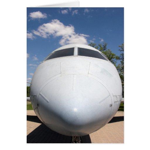Aircraft Nose 4 Card
