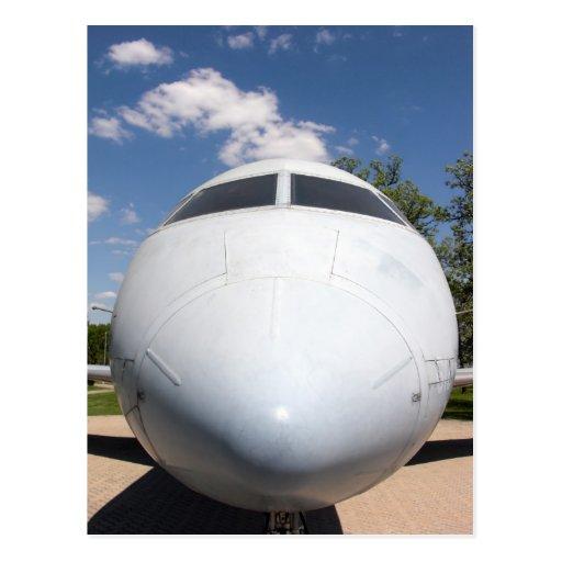 Aircraft Nose 4 Postcard