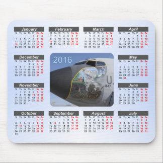 Aircraft Nose Art 2016 Calendar Mouse Pad