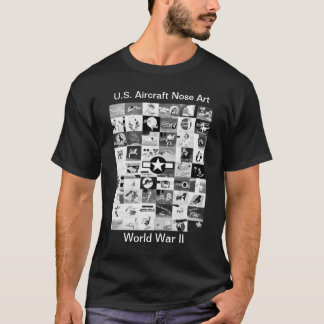 Aircraft Nose Art T-Shirt