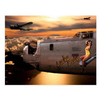 Aircraft Nose Cone Art Postcard