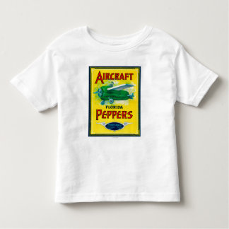 Aircraft Pepper Label Toddler T-Shirt