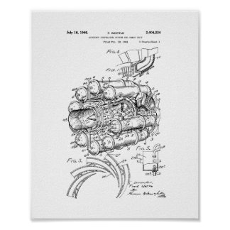 Aircraft Propulsion System And Power Unit Patent Poster