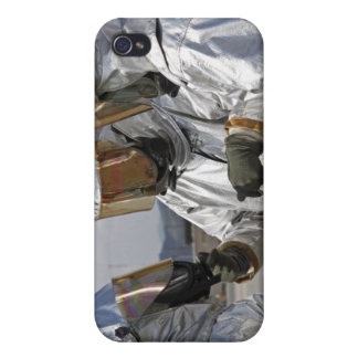 Aircraft Rescue Firefighter Marines iPhone 4 Case