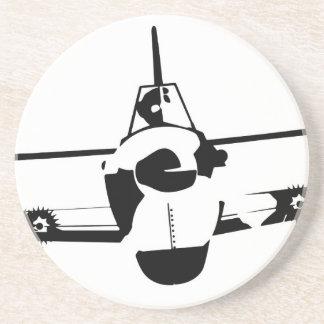 Aircraft Sandstone Coaster