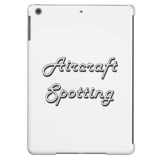 Aircraft Spotting Classic Retro Design Case For iPad Air