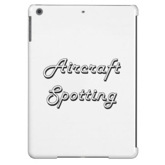 Aircraft Spotting Classic Retro Design Case For iPad Air