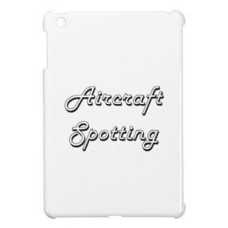 Aircraft Spotting Classic Retro Design iPad Mini Cases