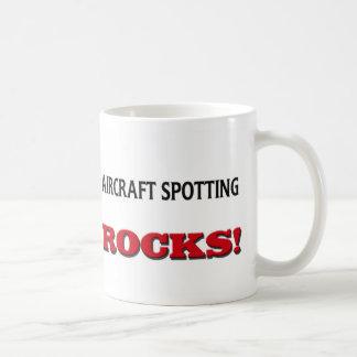 Aircraft Spotting Rocks Coffee Mug