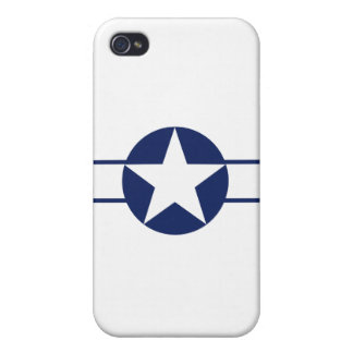 Aircraft Star Pre-1947 Cases For iPhone 4